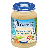 Пюре Плодов десерт с йогурт, от 7-ия месец, бурканче, 190 g