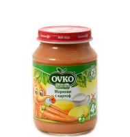Картоф и морков с мляко 4+ мес. 190гр.