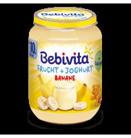 ЙОГУРТ С ПЛОДОВЕ - БАНАНИ 10+