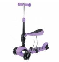 KikkaBoo Ride and Skate - Тротинетка 3в1