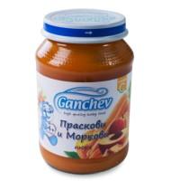 Ганчев- Пюре от праскови и моркови