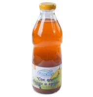 Ганчев- Сок ябълки и круши – 750мл