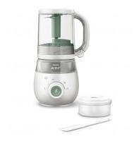 Комбиниран уред за здравословна бебешка храна 4 в 1