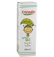 Бебешко олио с органично масло от маслина и бадем - 100мл
