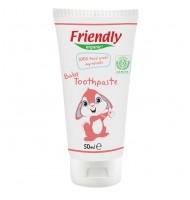 Органична бебешка паста за зъби, Friendly Organic, 50 мл,