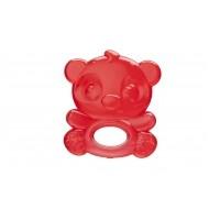 Гризалка с вода червена панда 3м+