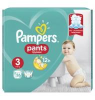 Pampers Pants 3 6-11кг. 26бр.