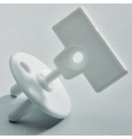 Предпазители (12 бр./оп.) за контакт с ключ за премахване (4 бр./оп.)