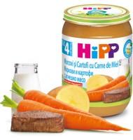 Hipp БИО Моркови и картофи с агнешко