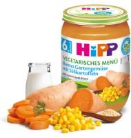 Hipp БИО Вегетарианско меню градински зеленчуци със сладки картофи