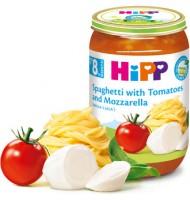 Hipp БИО Спагети с домати и моцарела