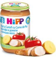 Hipp БИО Домати и картофи с пилешко месо