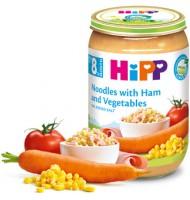 Hipp БИО Макарони с шунка и зеленчуции