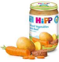 Hipp БИО Зеленчуци с телешко месо