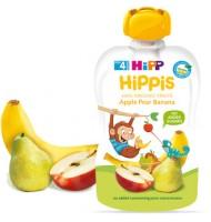 Био HiPPiS ябълка, ягода и банан