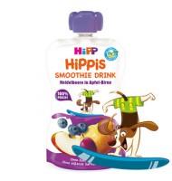 Hipp Био смути напитка ябълка и круша с боровинки