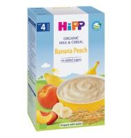 Hipp БИО млечна каша банан и праскова