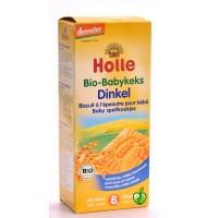 Holle био бебешки бисквити от спелта 8+мес. 150 г