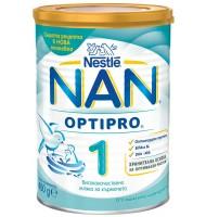 NAN 1 optipro мляко за кърмачета 0+ мес. 400 гр.