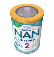 NAN 2 optipro преходно мляко 6+ мес. 400 гр.