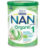 NAN ORGANIC 1 мляко за кърмачета 0+ мес. 400 гр.