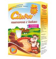 Пшенично млечна каша с какао