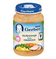 Пюре Зеленчуци със свинско, от 9-ия месец, бурканче, 190 g