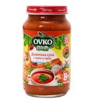 Доматена супа с пиле и ориз 8+ мес. 220гр.