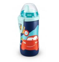 NUK Kiddy Cup 300мл, с твърд накрайник, 12+ CARS