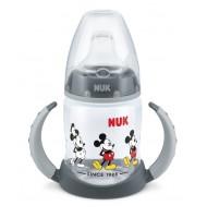 NUK FC РР шише 150мл с накрайник силикон за сок Mickey 6+ мес.