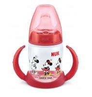 NUK FC РР шише 150мл с накрайник силликон за сок Mickey 6+ мес.