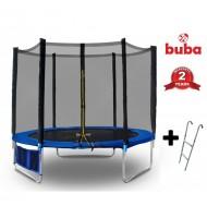 Детски батут Buba 8FT (244 см) с мрежа и стълба