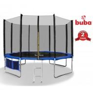 Детски батут Buba 12FT (366 см) с мрежа и стълба