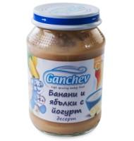 Ганчев -Десерт от банани и ябълки с йогурт