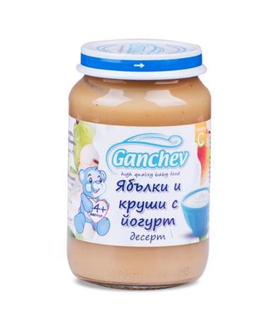 Ганчев -Десерт от ябълки и круши с йогурт
