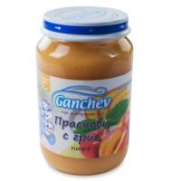 Ганчев -Пюре от праскови с грис