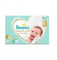 Pampers Premium Care 5 Junior Пелени за бебета и деца 9-14 кг /104 броя