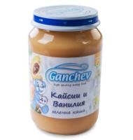 Ганчев -Млечна каша с кайсия и ванилия