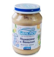 Ганчев -Млечна каша с нишесте и ванилия