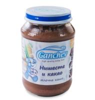 Ганчев -Млечна каша с нишесте и какао