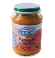 Ганчев -Пюре от картофи и моркови