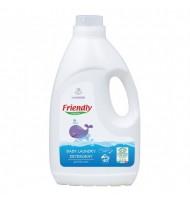Friendly Organic Препарат за пране на бебешки дрехи - Лавандула, 2л, 40 пранета