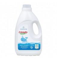 Friendly Organic Препарат за пране на бебешки дрехи - Без аромат, 2л, 40 пранета