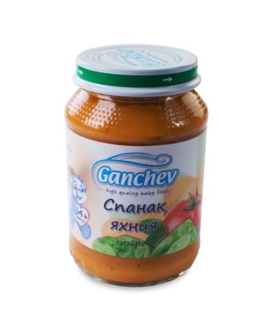 Ганчев -Пюре от спанак яхния