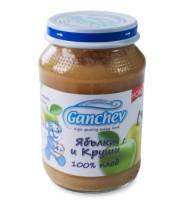 Ганчев- 100% плод – Пюре от ябълки и круши