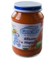 Ганчев- 100% плод – Пюре от ябълки и моркови