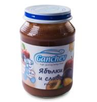 Ганчев- Пюре от ябълки и сливи
