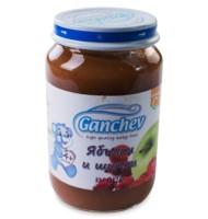 Ганчев- Пюре от ябълки и шипка