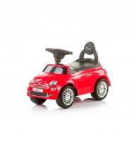 Chipolino Кола за яздене Фиат 500 червена