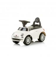 Chipolino Кола за яздене Фиат 500 бяла